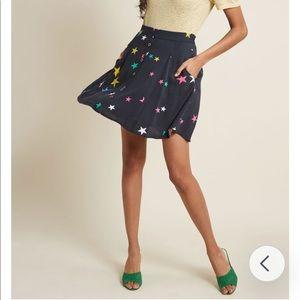 You Sassy Thing Skater Skirt in Stars